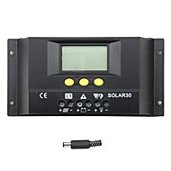 Y-태양 30A의 LCD 태양 광 충전 컨트롤러 solar30 배터리 충전 조절기