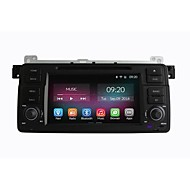 7 Inch 1 Din In-Dash Car DVD Player For BMW E46 1998-2005 with Quad Core CPU Pure Android 4.4.2 OS GPS Navigation