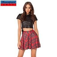 Women's Sexy/Casual/Print/Work Above Knee Skirts , Polyester/Cotton Blends Stretchy