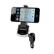 Bluetooth автомобильный комплект громкой связи, Bluetooth 4.0 / fm передатчик / автомобильное зарядное устройство / держатель мобильного телефона