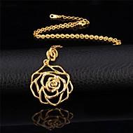 Da donna imitazione diamante A forma di fiore Rose imitazione diamante Di tendenza Oro Argento Gioielli Per Occasioni speciali Compleanno