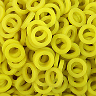 ITATOO™ 100pcs Yellow Rubber Tattoo O-ring for Tattoo Machines Parts P106018D