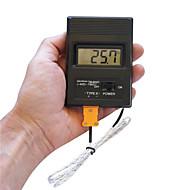 """מדחום נייד 2 """"מסך דיגיטלי LCD thermodetector מטר -50 ° C-1300 ° C (סוללה 1 x 9V)"""