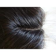 Alongamento - Marrom - de Cabelo 100% Natural - Liso Mulher