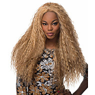 The New European And American Long Golden Corn Hot Wig