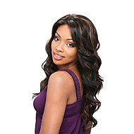 22 Inch 100% Indian Human Hair Nature Wave Lace Front Wig