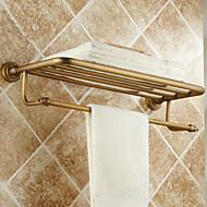 Tyč na ručníky Vintage mosaz Na ze´d 600*250*80mm(23.62*9.84*3.14inch) Mosaz Vintage