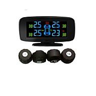 système de surveillance de pression des pneus avec 4 capteurs externes, psi / bar, outils de diagnostic, tpms psi, TPMS de voiture