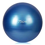 Frauen extrudieren, Gewicht zu verlieren Explosionsschutz professionelle Yoga Ball 75cm (gelegentliche Farbe)