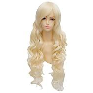 angelaicos naisten Victoria tyyli hunaja apila pitkät vaaleat aaltoilevat kiharat halloween puku cosplay yökerho puolue peruukit