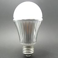 6W E26/E27 LED kulaté žárovky / LED chytré žárovky G60 10 SMD 5730 460LM lm Chladná bílá Senzor AC 85-265 / AC 100-240 V 1 ks