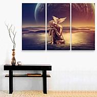 e-Home® Canvastaulu art buddhan sisustusmaalaus sarja 3