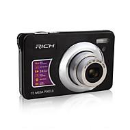 "Videocamera - Sensore CMOS 5 Megapixel - Schermo - 2,7"" - 12x - Video Out/720P/HD/Resistente agli urti"