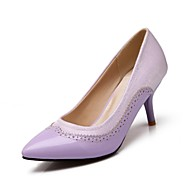 Women's Shoes Pointed Toe Stiletto Heel Patent Leather Pumps Shoes More Colors available