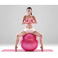 Fitnessball ( Gelb/Weiß/Rosa/Schwarz/Purpur ) - PVC