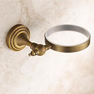 Suporte para Escova de Banheiro Cobre Envelhecido De Parede 430*120mm(16.92*4.72inch) Latão Antigo