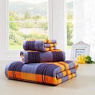 Badehåndklæde Sæt Som På Billede,Mønstret Høj kvalitet 100% Bomuld Håndklæde