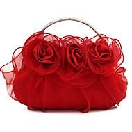 Handbag Luxurious Satin Evening Handbags/Clutches//Mini-Bags With Chain