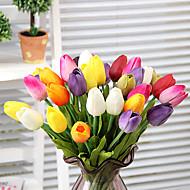 sada 3 přírodní simulace květy tulipánů