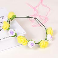 Celada Coronas Boda/Ocasión especial/Casual/Oficina/Al Aire Libre Espuma/Plástico Mujer/Niña de florBoda/Ocasión