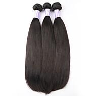 Az emberi haj sző Perui haj Ravno 6 hónap 3 darab haj sző
