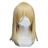 Angelaicos Women Attack On Titan Krista Lenz Medium Blonde Girls Popular Halloween Party  Costume Cosplay Wigs