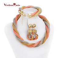 Colliers décoratifs/Boucles d'oreille/Bracelets (Alliage) Soirée/Tous les jours pour Femme