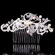 Donne / Bambina Lega Copricapo-Matrimonio / Occasioni speciali / Casual / Formale / All'aperto Fermagli 1 pezzo Argentato