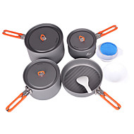 Fire-Maple Genuine Feast 5 Outdoor Picnic 4-5 Sets High Folding Handle Pot Cooking Pot