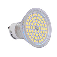 6W GU10 LED 스팟 조명 60 SMD 2835 540 lm 따뜻한 화이트 / 차가운 화이트 AC 220-240 V 1개