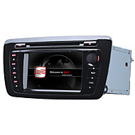 Wince 6.0 7Inch 2 Din Car Dvd Player Car Stereo For Seat Ibiza With 1.2G CPU Gps Map Losses Music HD 1080P RDS