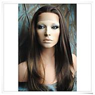 8inch-22inch 100% indian remy menneskehår silkeagtig lige blonde parykker lwss003