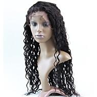 kvinder blonder foran paryk 10inch ~ 20inch indien hårfarve (# 1 # 1b # 2 # 4) dyb wavehair