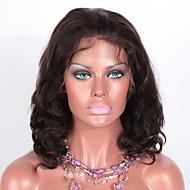 merletto pieno conveniente parrucche remy indiani 14 pollici nero naturale