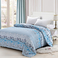 Yuxin® Sky Blue Color Duvet Cover Fashion Comfortable Flower Printed Full/Queen/King Size