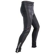 Jaggad Pantaloni Cycling Pentru bărbați Bicicletă Dresuri Ciclism PantaloniKeep Warm Uscare rapidă Respirabil Dungi reflectorizante 3D
