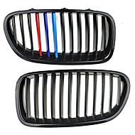 m-farve skinnende sort gitter grill nyre til BMW f10 f11 F18 5-serie 10-14