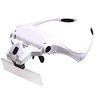 Monocular / Magnifiers/Magnifier Glasses Generic / Headset/Eyewear 1x / 1.5x / 2.0x / 2.5x / 3.5x 85 Normal Plastic