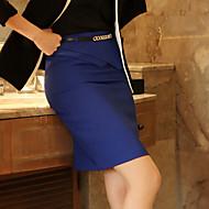 Women's Bodycon/Work Irregular Above Knee Skirts