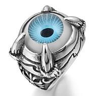 Banda anel de aço inoxidável do motociclista Punk Silver Wing tamanho 8 9 10 11 12 13