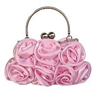 Zijde - Evening Handbags/Clutches ( Zwart/Blozend Rose/Purple/Zilver/Ivoor/Champagne/Rood , Flower