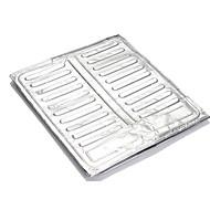 cocina resistir agua de aluminio aceite cocinar la hoja deflector de aceite que separa 38x78cm papel
