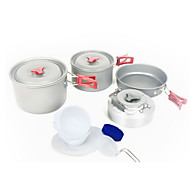 Fire-Maple FMC-209 3-5 With A Scratch Resistant Portable Outdoor Camping Picnic Camping Cookware Set