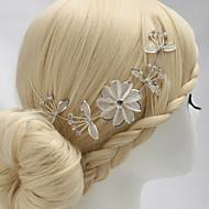 Licht Metaal Vrouwen/Bloemenmeisje Helm Bruiloft/Speciale gelegenheden/Casual Bloemen Bruiloft/Speciale gelegenheden/Casual