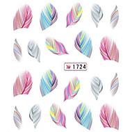 Cartoon/Schattig - Vinger/Teen - 3D Nagelstickers - Andere - 1 - stuks 10.5X7X0.1 - (cm)