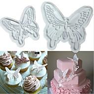 2szt motyl ciasteczka cięcia ciasta dekorowanie kremówki tłok sugarcraft formy