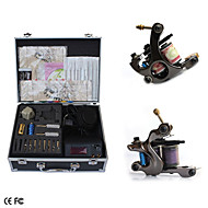 Complete Set Tattoo Kits With 2 Guns Superior LCD Power Supply