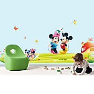 murali Stickers adesivi murali, stile Mickey Mouse adesivi murali in pvc
