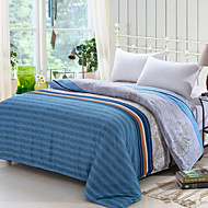 Yuxin® Blue Color Duvet Cover Fashion Comfortable Stripe Printed Full/Queen/King Size