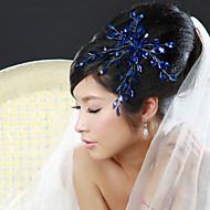 Licht Metaal Vrouwen Helm Bruiloft/Speciale gelegenheden Bloemen Bruiloft/Speciale gelegenheden 1 Stuk
